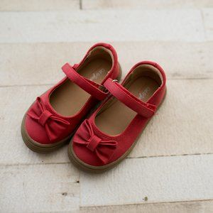 Toddler Girl's Red Dress Shoes